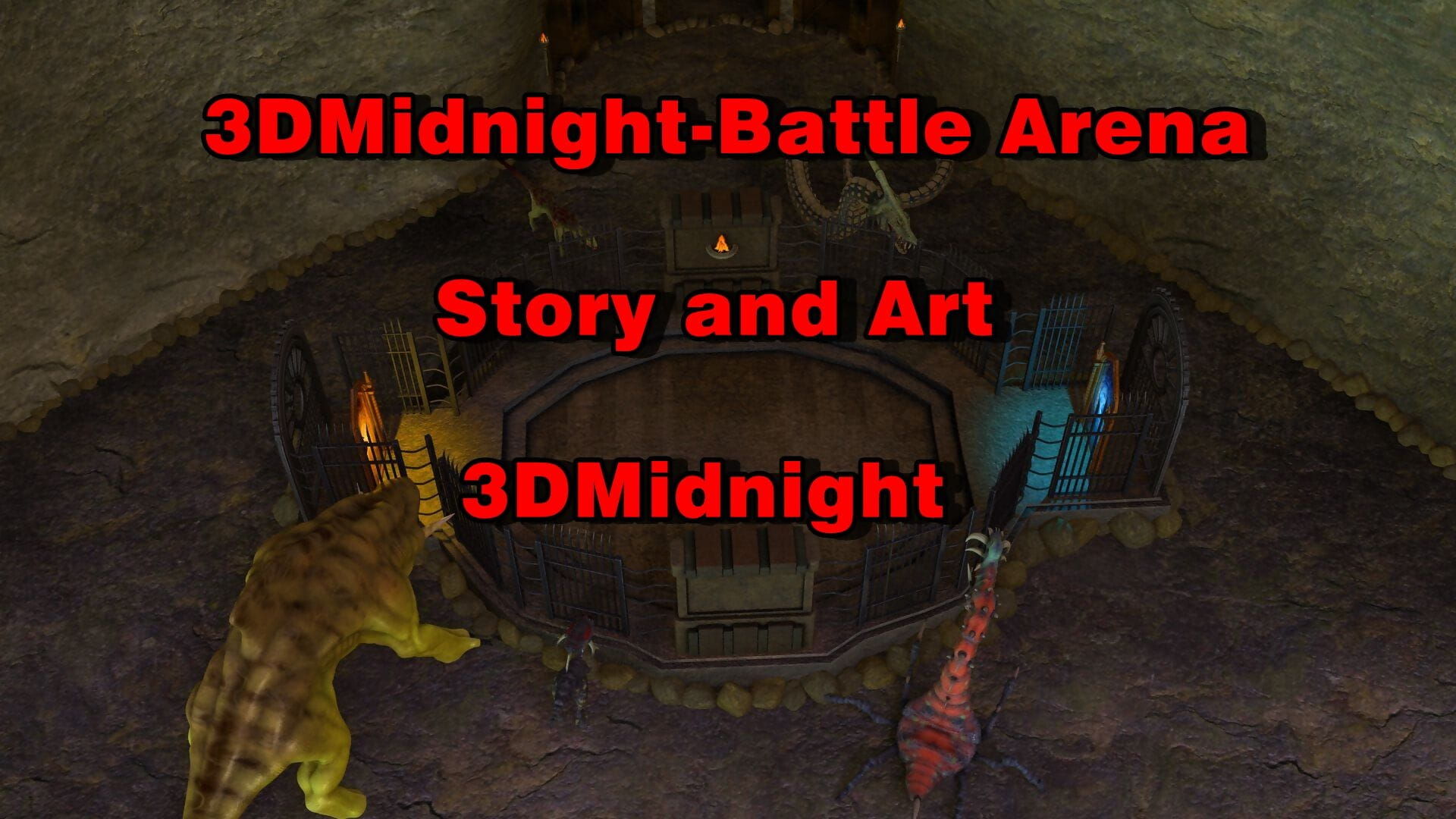 3DMidnight- Battle Arena page 1